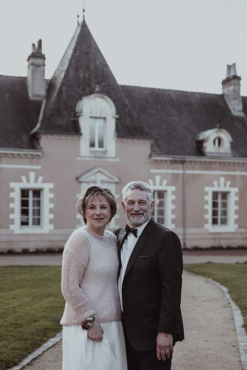 Francoise-Jean-phillippe chateau du domaine de la chasse